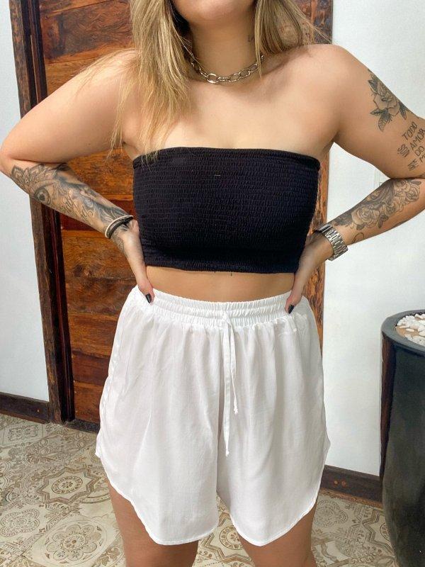 Shorts Olívia Branco