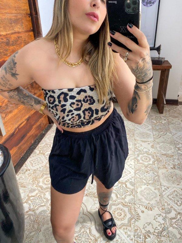 Shorts Olívia Preto