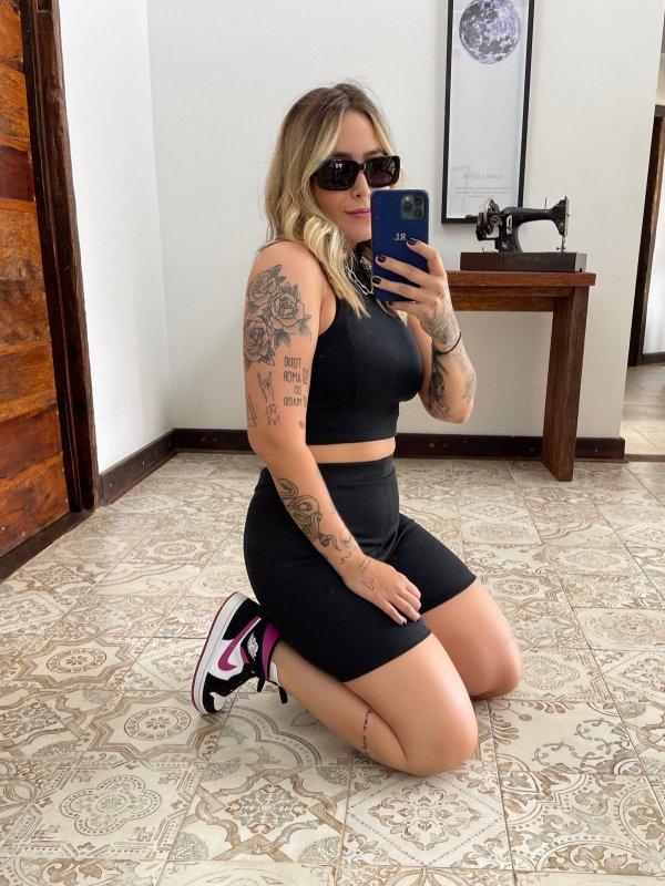 Biker Shorts Jess Preto