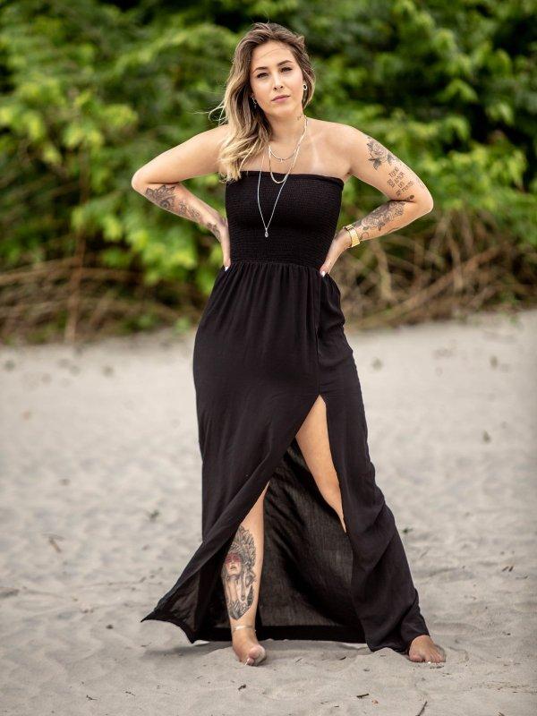 Vestido Carmel Preto
