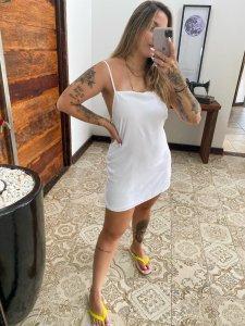 Vestido Lari Branco-5