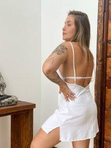 Vestido Lari Branco-3