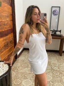 Vestido Lari Branco-4
