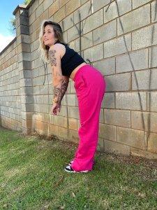 Wide Leg Moletom Pink Barbie-5