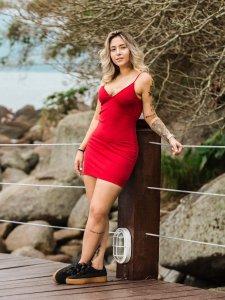 Vestido Mikonos Vermelho-1