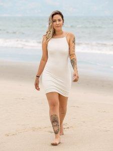 Vestido Santorini Off White-1