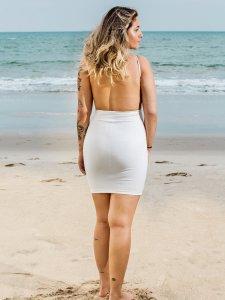 Vestido Santorini Off White-2