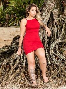 Vestido Santorini Vermelho-2